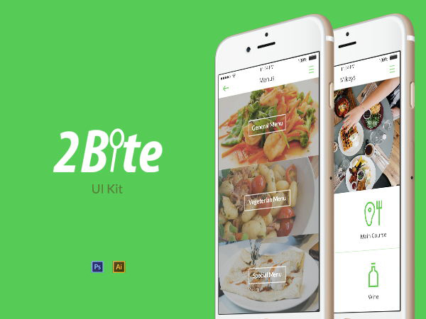 2Bite UI Kit