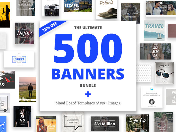 500 Banners Bundle