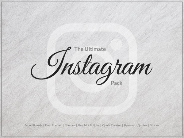 The Ultimate Instagram Pack